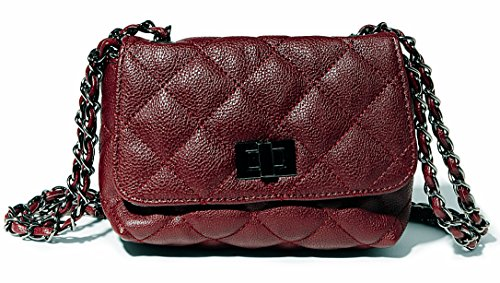 Steve Madden Bcharlee Mini Cross Body, Burgundy