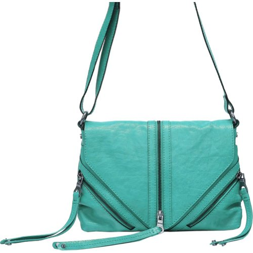 Lucky Brand Tory Crossbody (Turquoise)