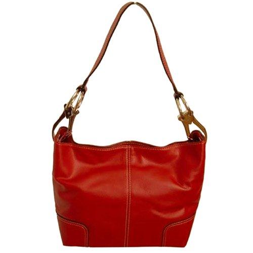 Italy Medium Shoulder TOSCA Red Hobo Handbag