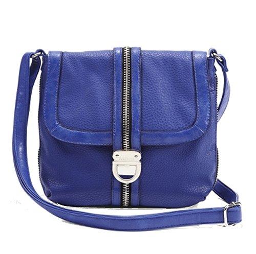 Kenneth Cole Reaction Zip It To Me Cross-Body Bag, Cobalt