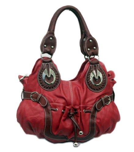 """Sori Collection """"033"""" Tassels Designer Inspired Handbag for Women"""