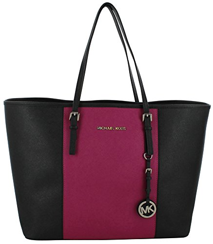 MICHAEL Michael Kors Women's Center Stripe Travel Tote