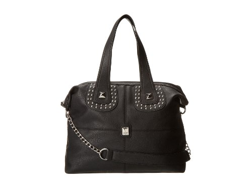 V Couture By Kooba Honore Satchel, Womens Handbag, Black, One Size