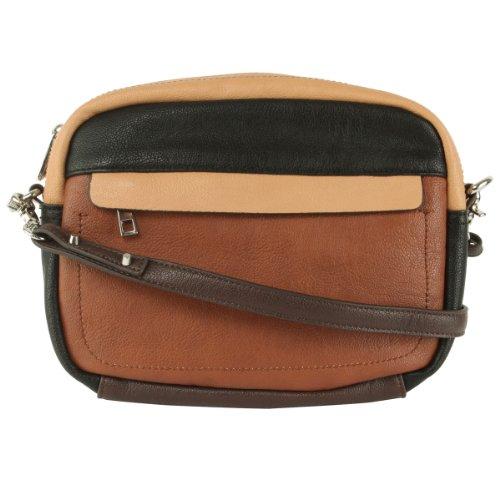 Jessica Simpson Greta Crossbody Bag-Black Multi