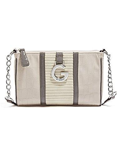 G by GUESS Women's Dagan Crocodile-Embossed Cross-Body Bag