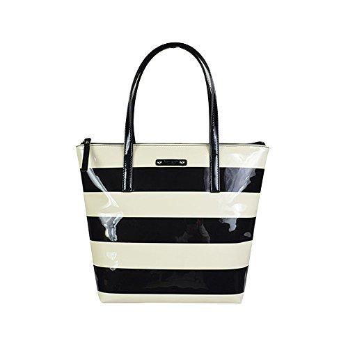 Kate Spade Jeralyn Pen Valley Handbag Black Cream
