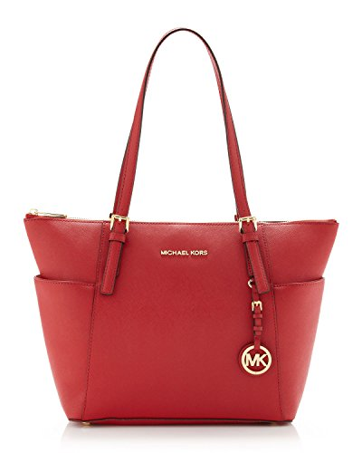 MICHAEL Michael Kors Jet Set Top-Zip Tote (One size, Red)