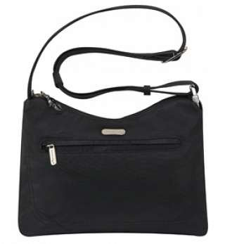 Travelon Anti-Theft Classic Hobo Bag-Black