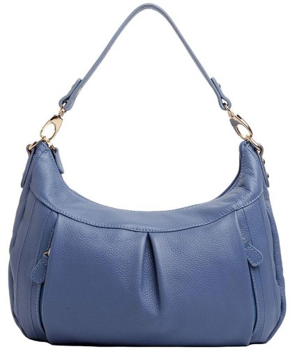 Heshe Fashion Women's Genuine Leather Cross Body Shoulder Bag Purse Satchel Handbag