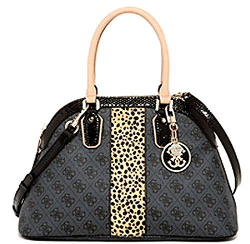 Guess Cheatin Heart Dome Satchel Coal