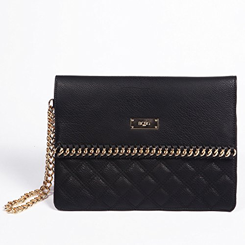 BCBG Paris Quilted Clutch bag Bcbg Maxazria Handbag, Regular Size, 2015 Collections