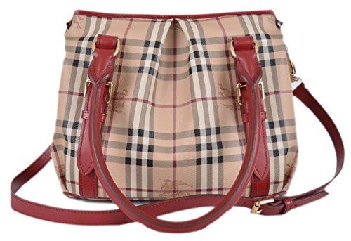 Burberry Women's Haymarket Nova Check Handbag Purse