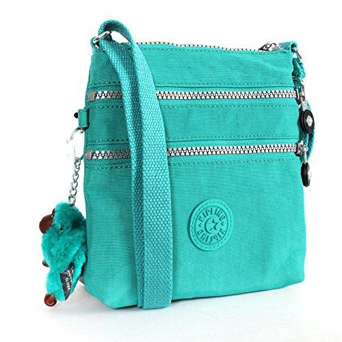 Kipling Alvar X-small Cross Body Mini Bag in Jade Green