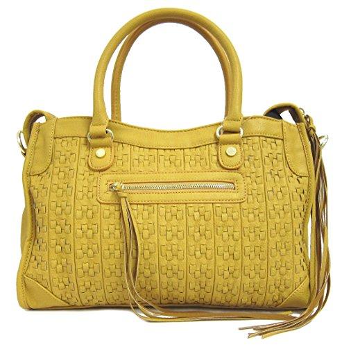 Steve Madden BWHISKY Satchel Bag, Marigold