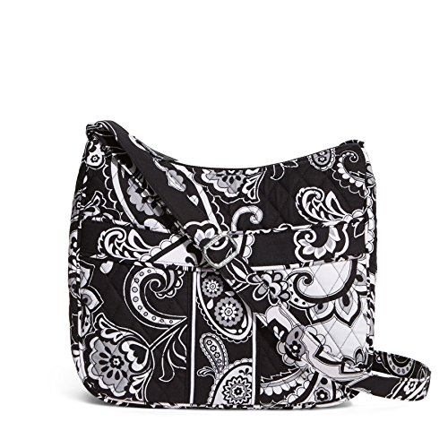 Vera Bradley Carryall Crossbody in Midnight Paisley