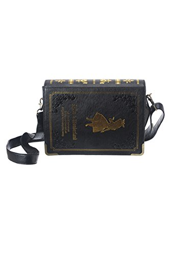 Alice in Wonderland Book Clutch/cross Body Bag- Holiday gifts – Cosplay, party, costume- Lolita Style