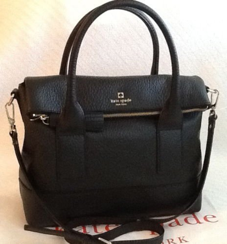 Kate Spade Southport Avenue Carmen Black Handbag