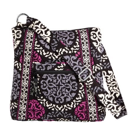 NEW VERA BRADLEY Large Hipster in Canterberry Magenta