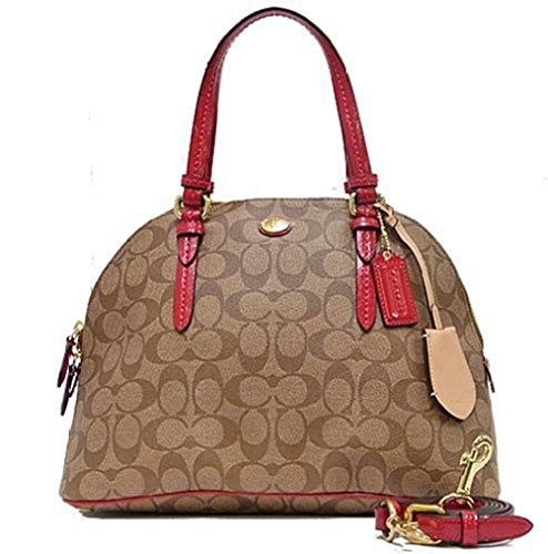 Coach Cora Dome Satchel Handbag Crossbody Bag