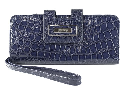 Kenneth Cole Reaction Women's PVC Tab Clutch Msrp $50