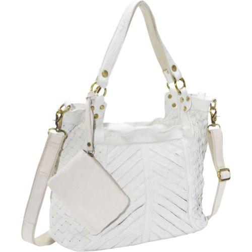 AmeriLeather Hazelle Leather Shoulder Bag