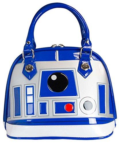 Star Wars R2-D2 (R2D2) Pattern Patent Dome Handbag Purse