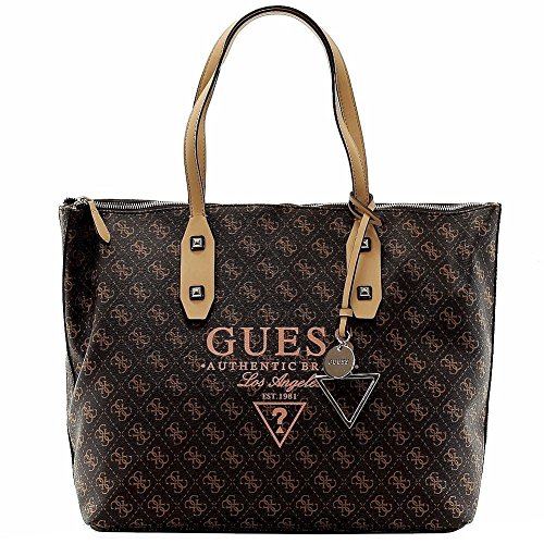 Guess Women's Passport Logo-Print Large Tote Handbag