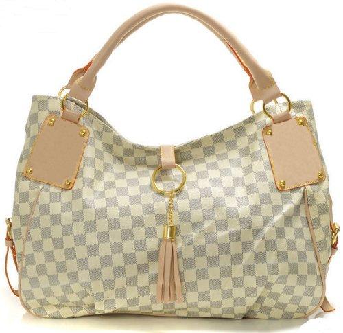 Bushels Handbags Inspired White Women Tote Designer Handbags Pu Leather