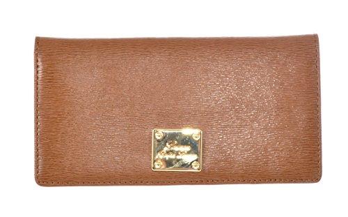 Ralph Lauren Women's Sloan Street Slim Leather Wallet Tan