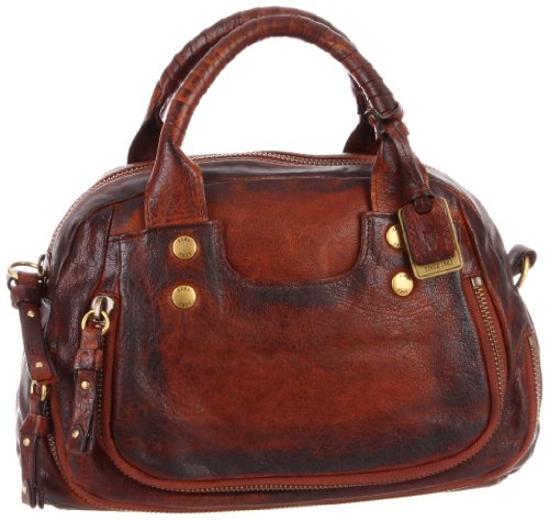 FRYE Elaine Vintage Satchel Handbag