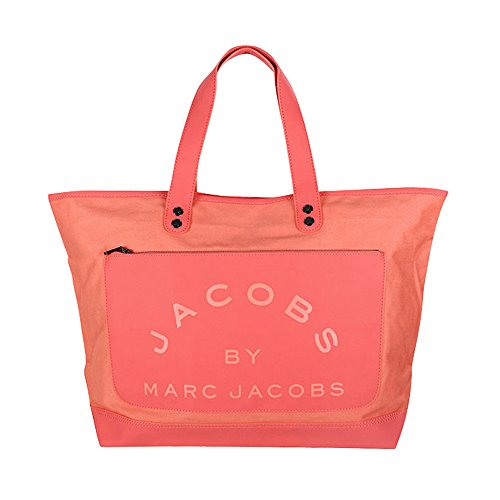 Marc by Marc Jacobs Medium Canvas Tote Bag Coral