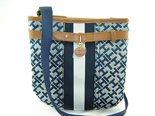 Tommy Hilfiger Small Xbody Handbag Purse Crossbody Navy Blue