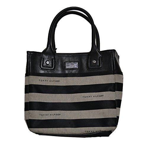 Tommy Hilfiger Purse Womens Small Striped Handbag