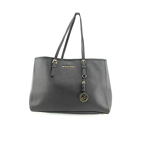 Michael Kors Black Saffiano Large Leather Tote