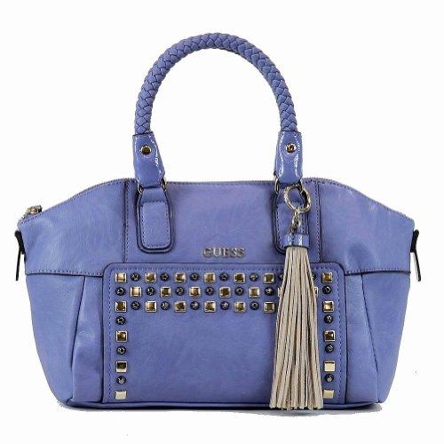Guess Women's Check Mix VG453806 Uptown Satchel Handbag