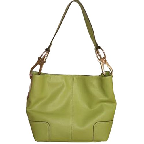 Tosca Classic Medium Shoulder Handbag,Medium,Light Olive