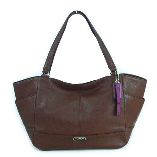 Coach Park Fig Leather Carrie Tote – Style 23284