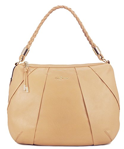 Cole Haan Womens Adele Hobo Shoulder Bag, Sandstone, One Size