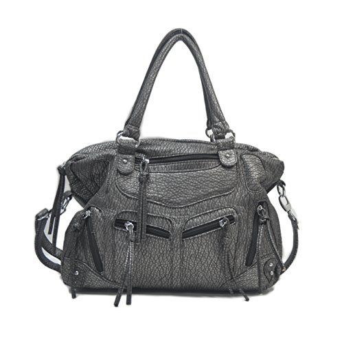 "SORRENTINO Sori Collection ""281"" Soft Faux Leather Designer Inspired Handbag Crossbody for Women"