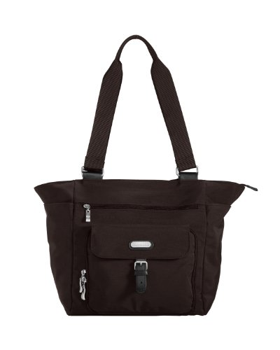 Baggallini Town Tote- Solid Nylon Crinkle
