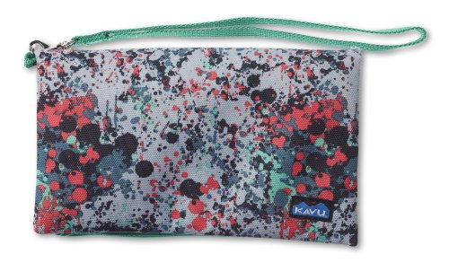 KAVU Clutch-N-Go Purse, Paint Splash