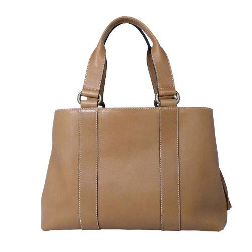 Teresa Calfskin Leather Shoulder Bag Handbag Made in Italy by Aldo Lorenzi