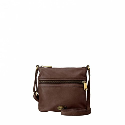 Fossil Explorer Mini Bag Dark Brown Sl3253206