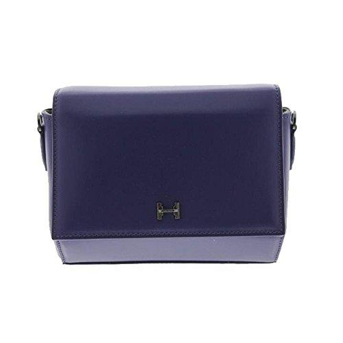 Halston Heritage Womens Leather Convertible Crossbody Handbag