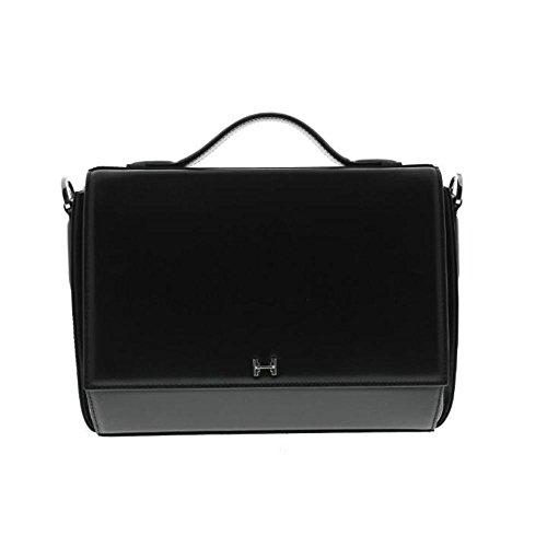 Halston Heritage Womens Leather Convertible Shoulder Handbag
