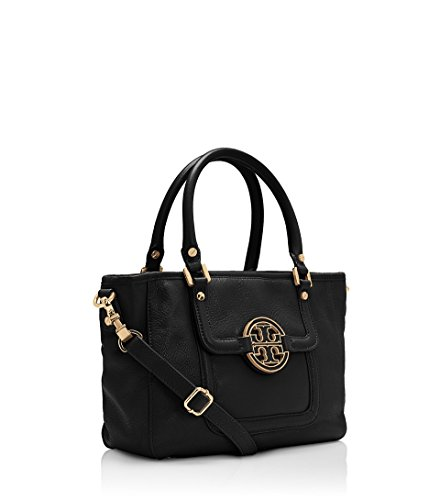 Tory Burch 'Amanda Mini' Satchel Handbag Black