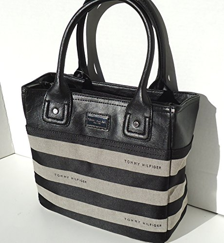 Tommy Hilfiger SM Iconic Bag Tote Black Multi Canvas