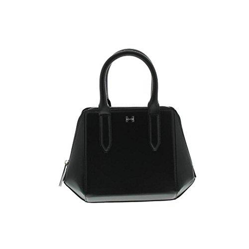 Halston Heritage Womens Leather Convertible Satchel Handbag
