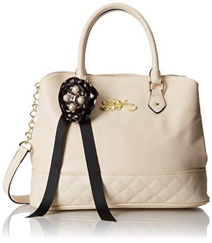 Betsey Johnson Quilty Pleasures Satchel Handbag