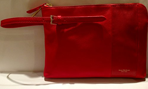 Isaac Mizrahi New York the Tessa Collection Wristlet Candy Apple Red